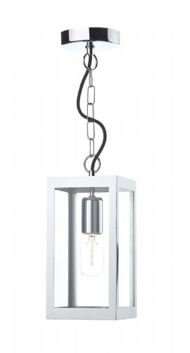 Lotus 1 Light Pendant Polished Chrome (Class 2 Double Insulated) BXLOT0150-17